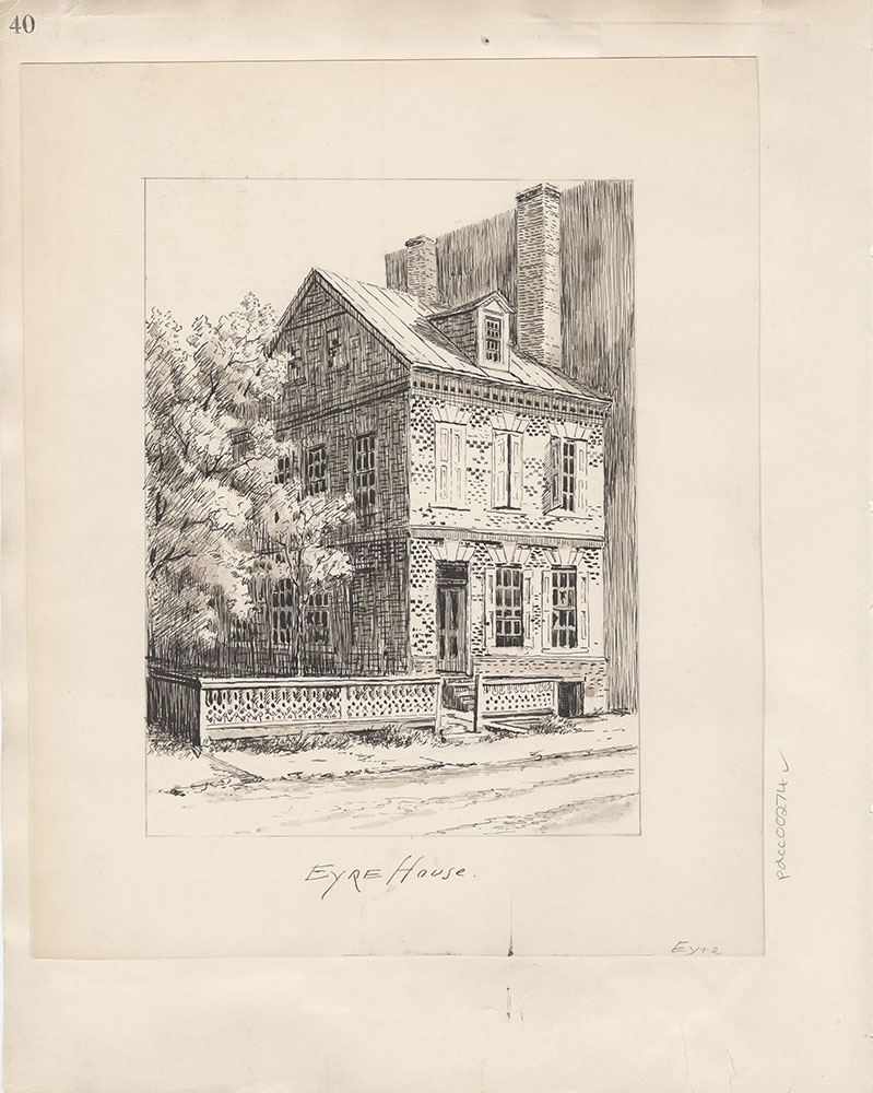 Castner Scrapbook v.4, Old Houses 1, page 40