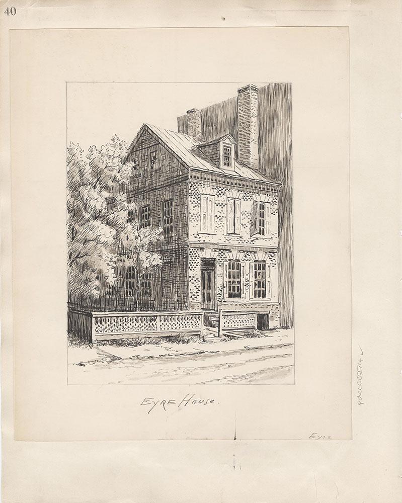 Castner Scrapbook v.4, Old Houses 1, page 40