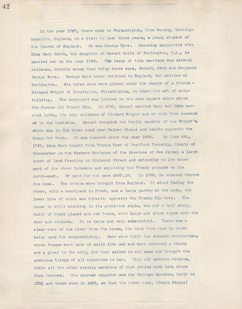 Castner Scrapbook v.4, Old Houses 1, page 42