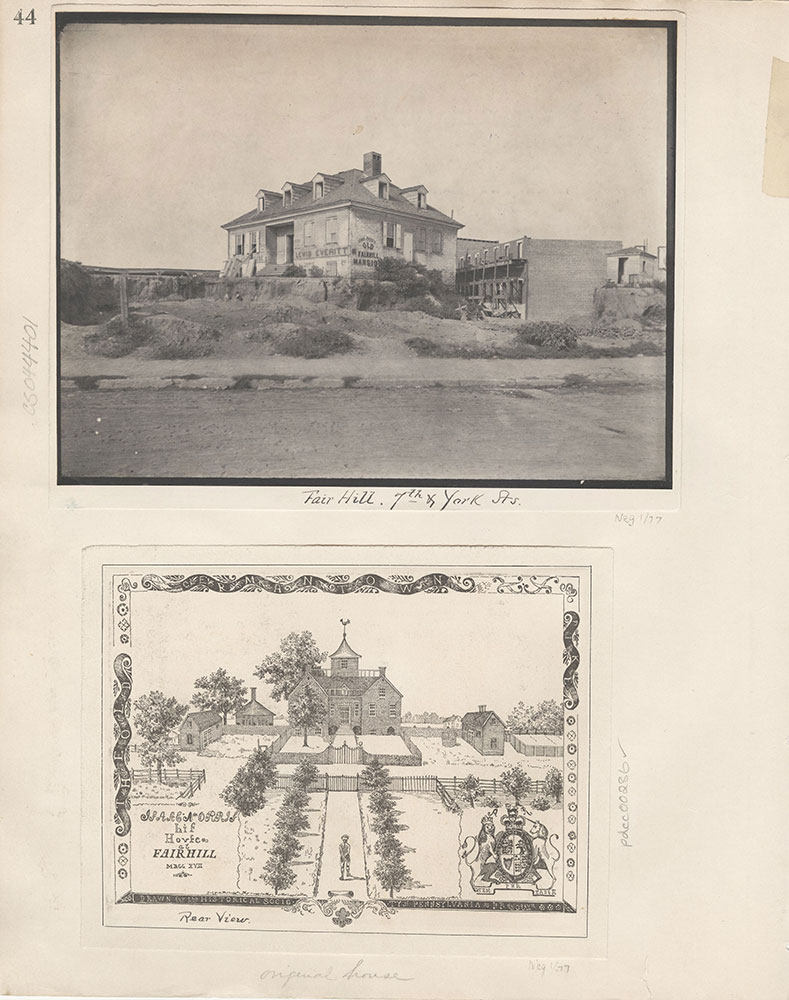 Castner Scrapbook v.4, Old Houses 1, page 44