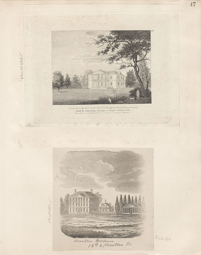 Castner Scrapbook v.4, Old Houses 1, page 47