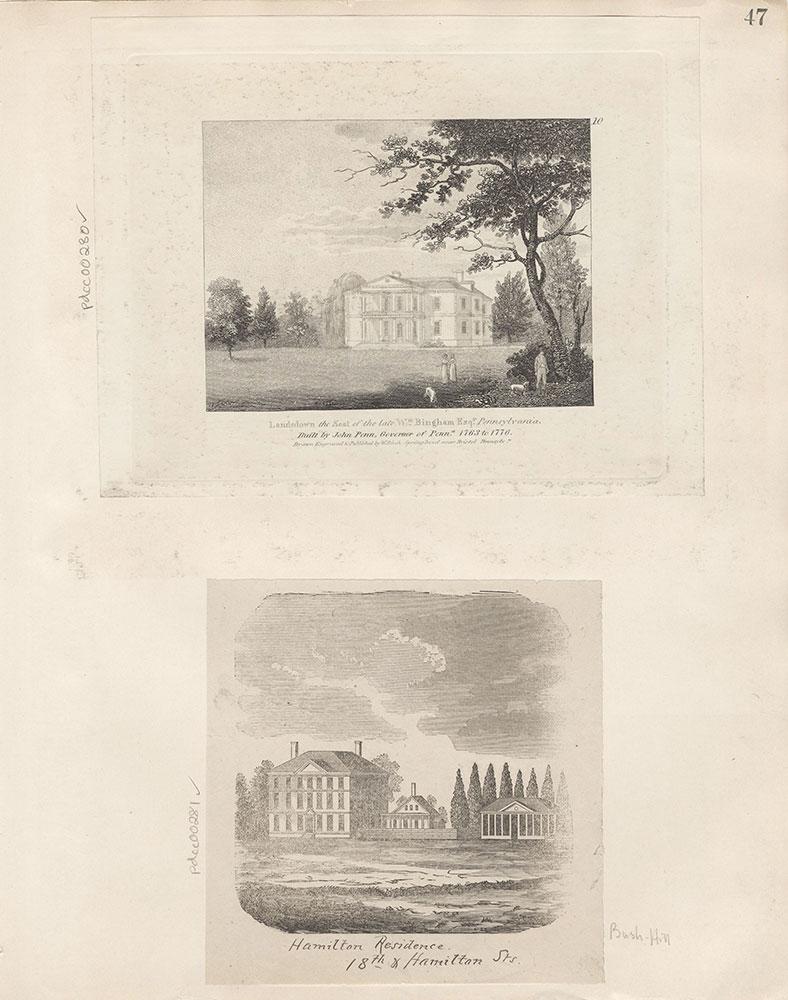Castner Scrapbook v.4, Old Houses 1, page 47