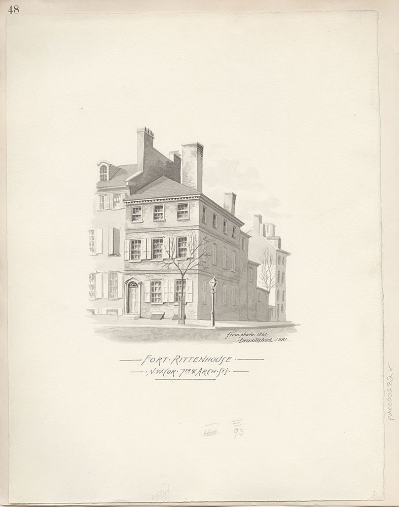 Castner Scrapbook v.4, Old Houses 1, page 48