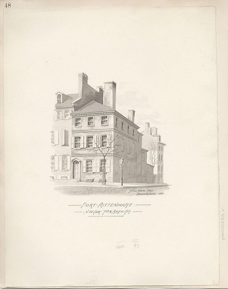 Castner Scrapbook v.4, Old Houses 1, page 48