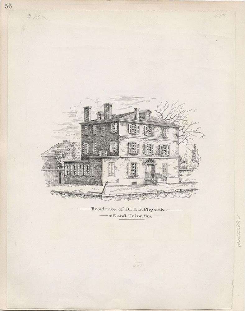 Castner Scrapbook v.4, Old Houses 1, page 56
