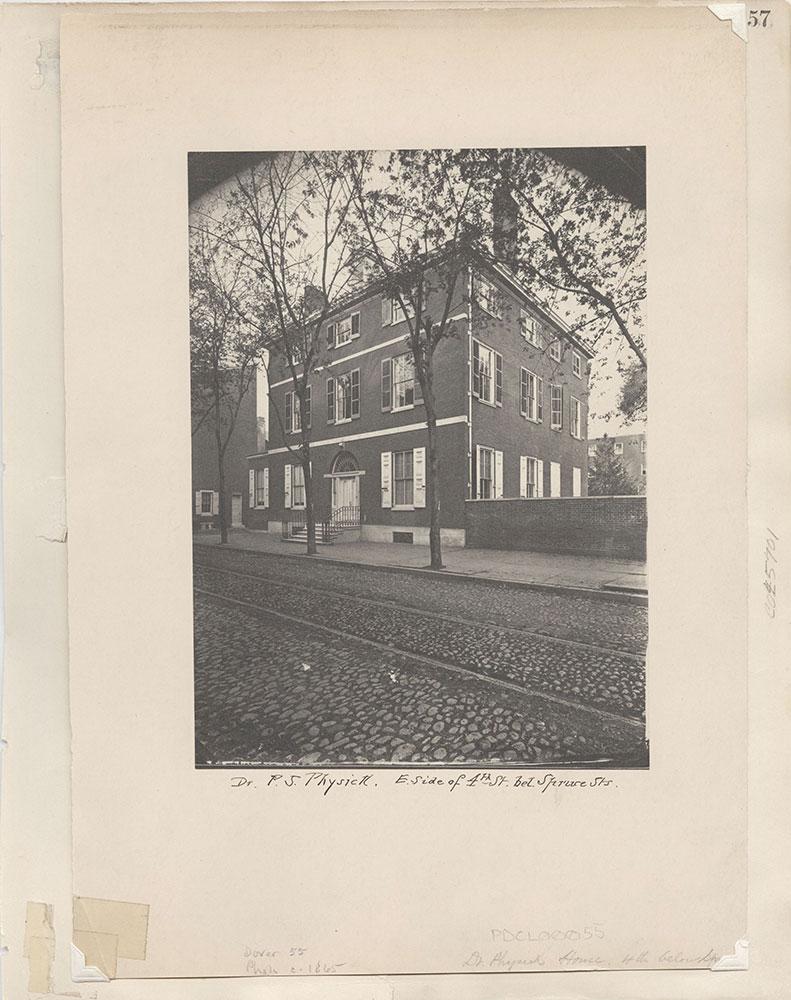Castner Scrapbook v.4, Old Houses 1, page 57