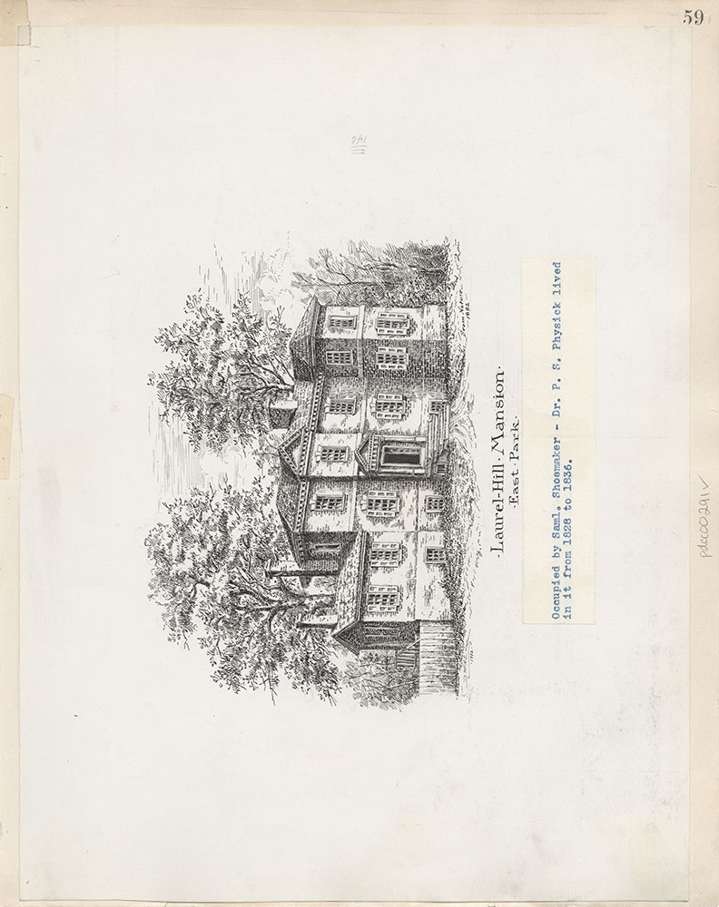 Castner Scrapbook v.4, Old Houses 1, page 59