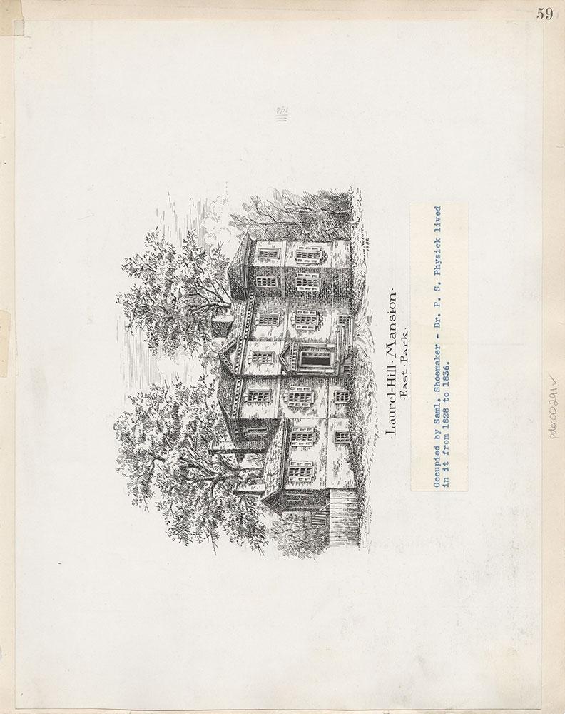 Castner Scrapbook v.4, Old Houses 1, page 59