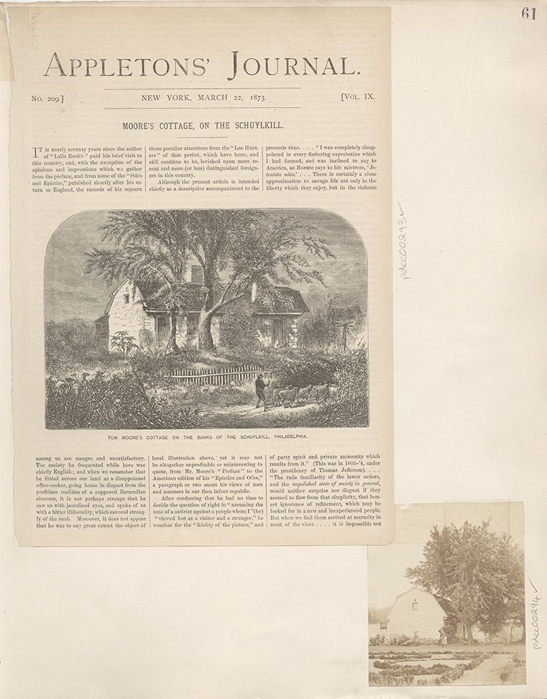 Castner Scrapbook v.4, Old Houses 1, page 61