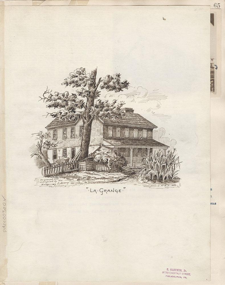 Castner Scrapbook v.4, Old Houses 1, page 65