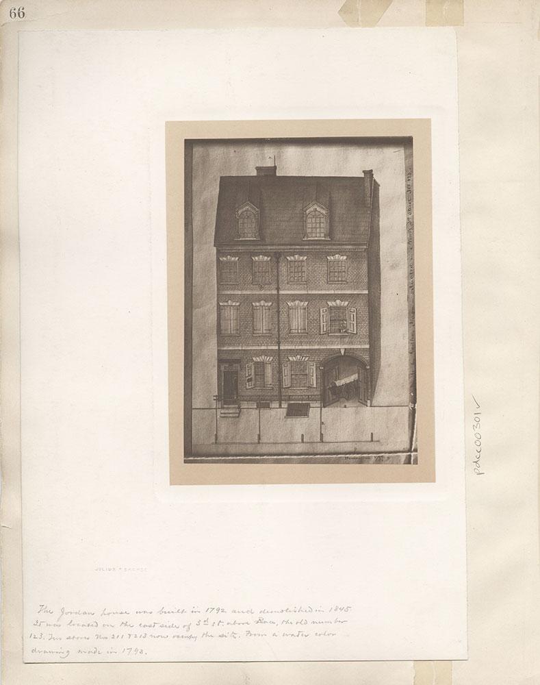 Castner Scrapbook v.4, Old Houses 1, page 66