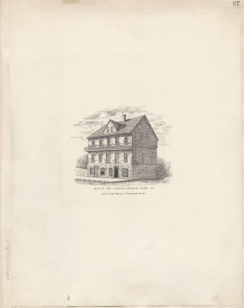 Castner Scrapbook v.4, Old Houses 1, page 67