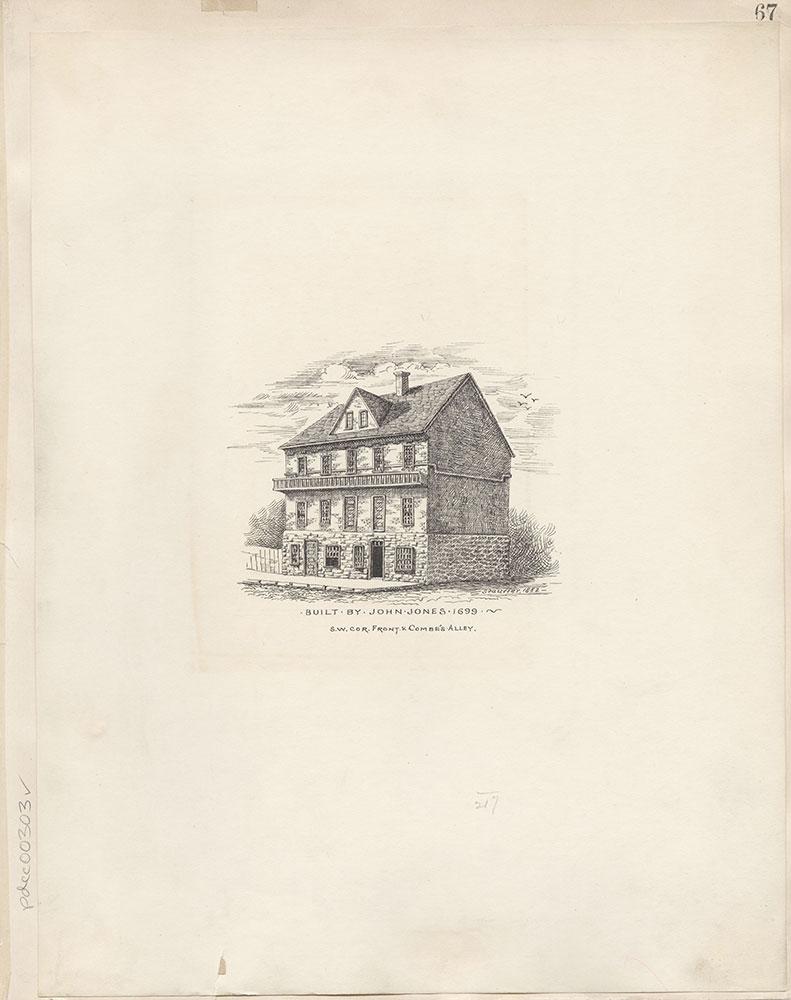 Castner Scrapbook v.4, Old Houses 1, page 67