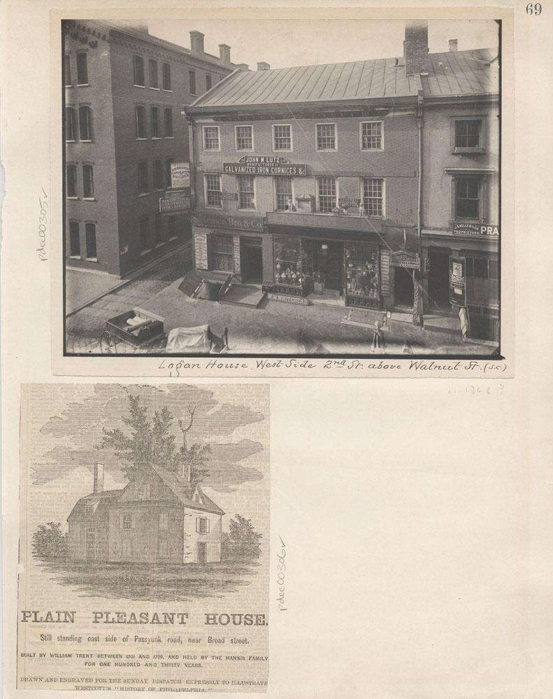 Castner Scrapbook v.4, Old Houses 1, page 69