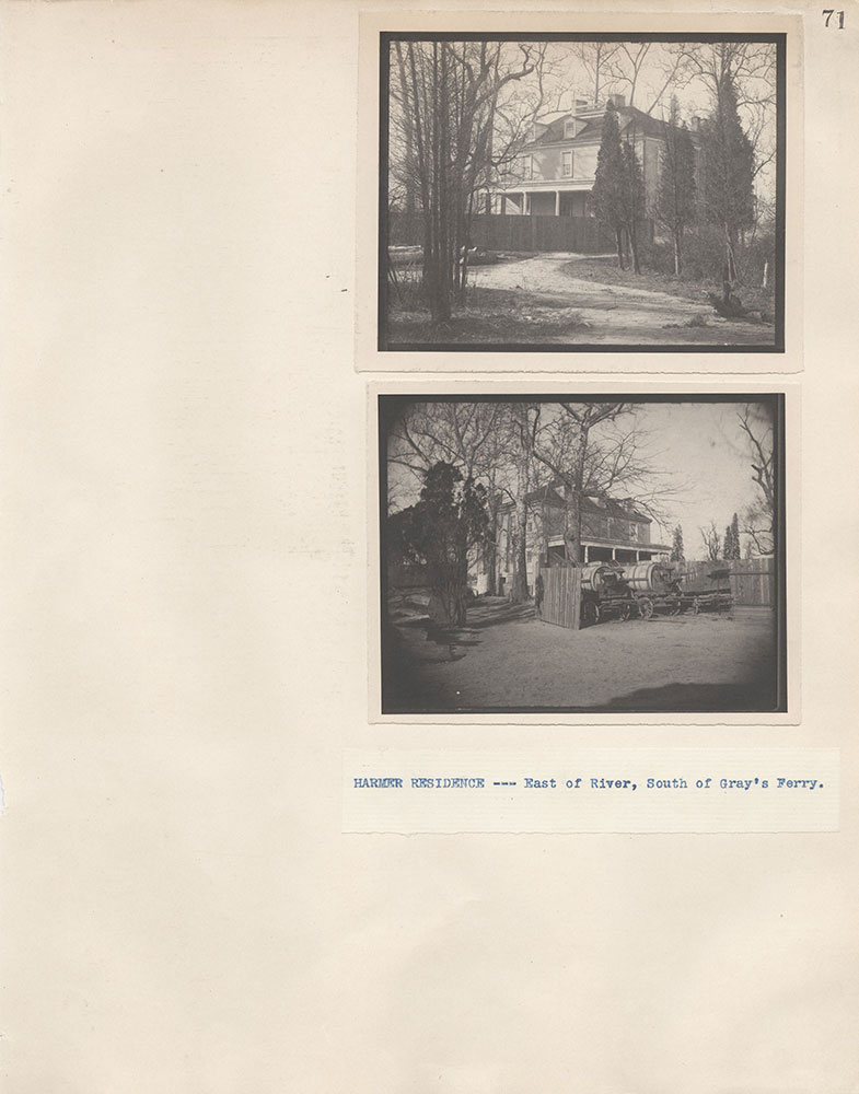 Castner Scrapbook v.4, Old Houses 1, page 71