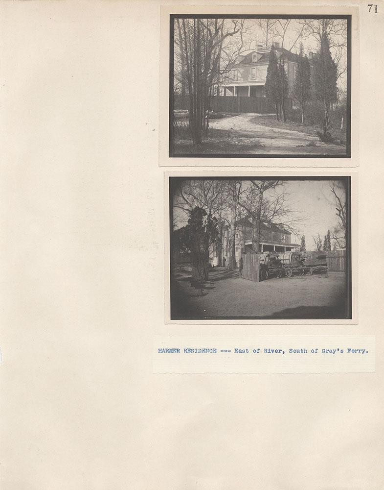Castner Scrapbook v.4, Old Houses 1, page 71