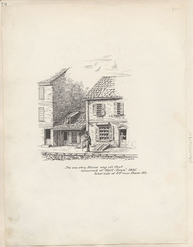 Castner Scrapbook v.4, Old Houses 1, page 72