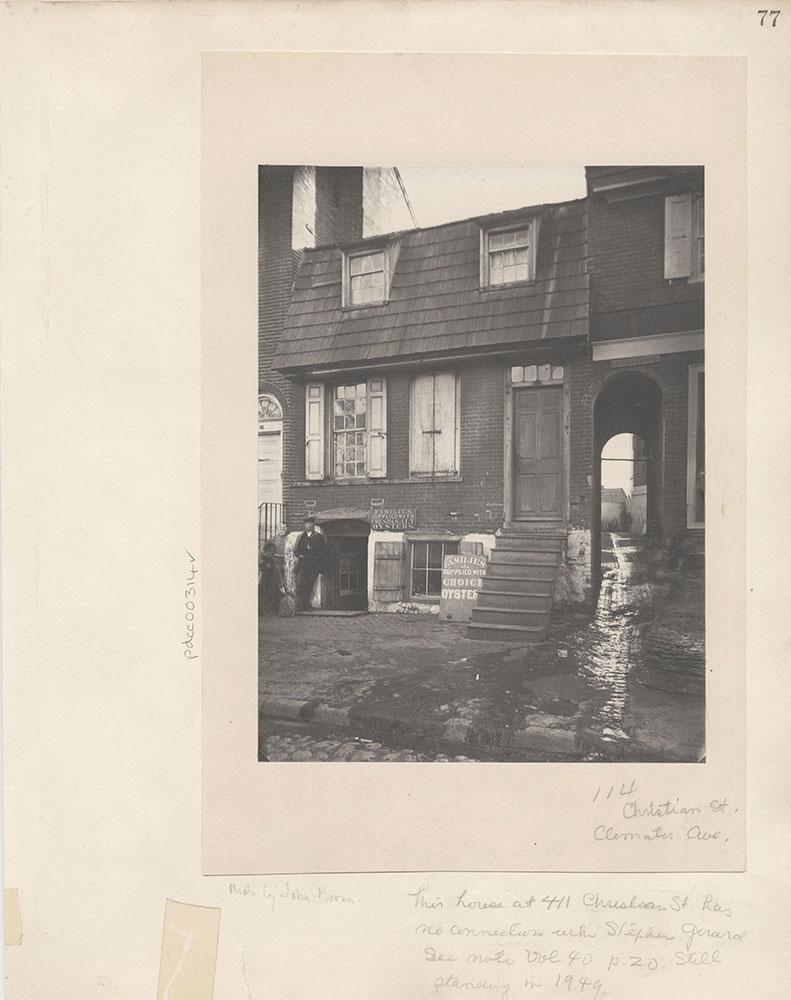 Castner Scrapbook v.4, Old Houses 1, page 77
