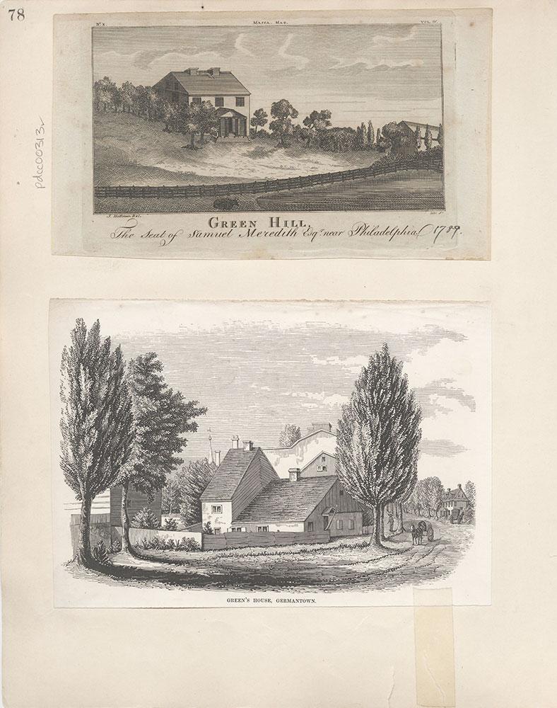 Castner Scrapbook v.4, Old Houses 1, page 78