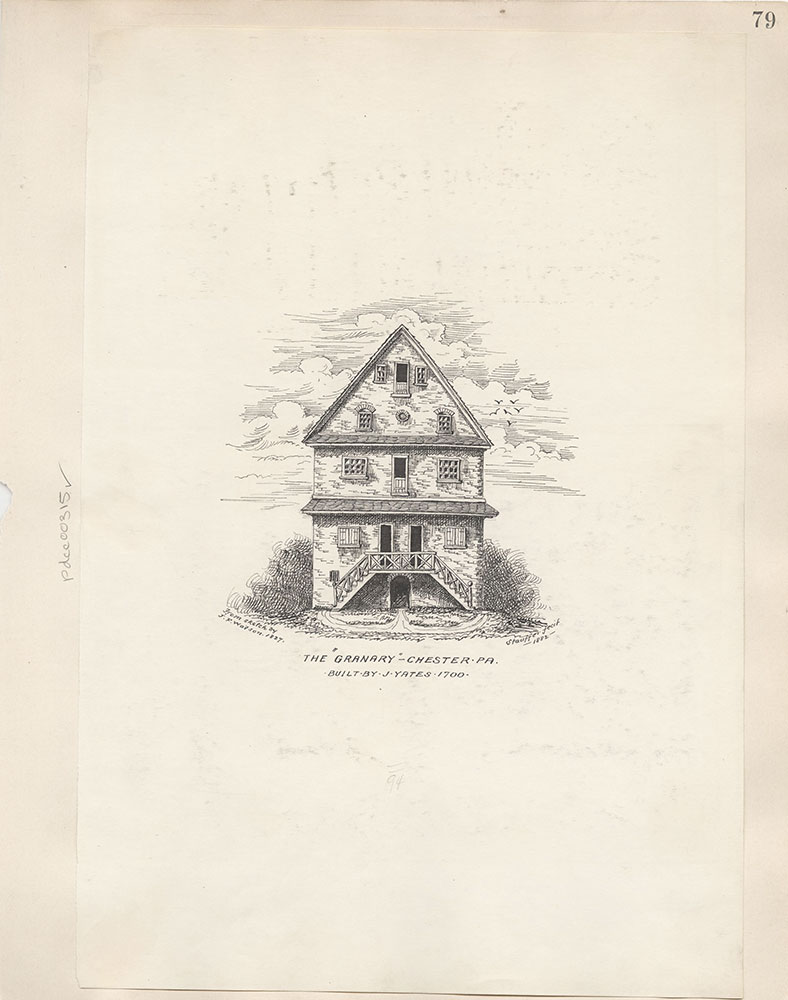 Castner Scrapbook v.4, Old Houses 1, page 79