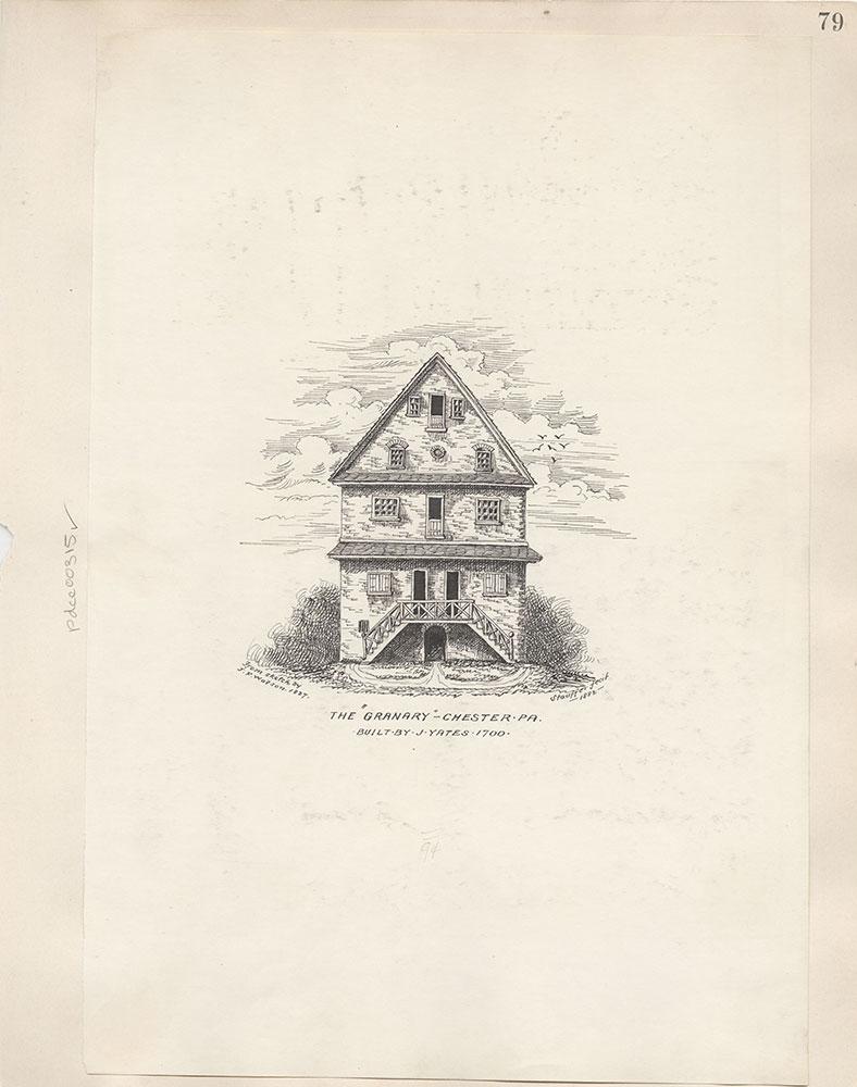 Castner Scrapbook v.4, Old Houses 1, page 79