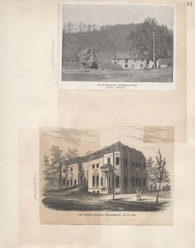 Castner Scrapbook v.4, Old Houses 1, page 81