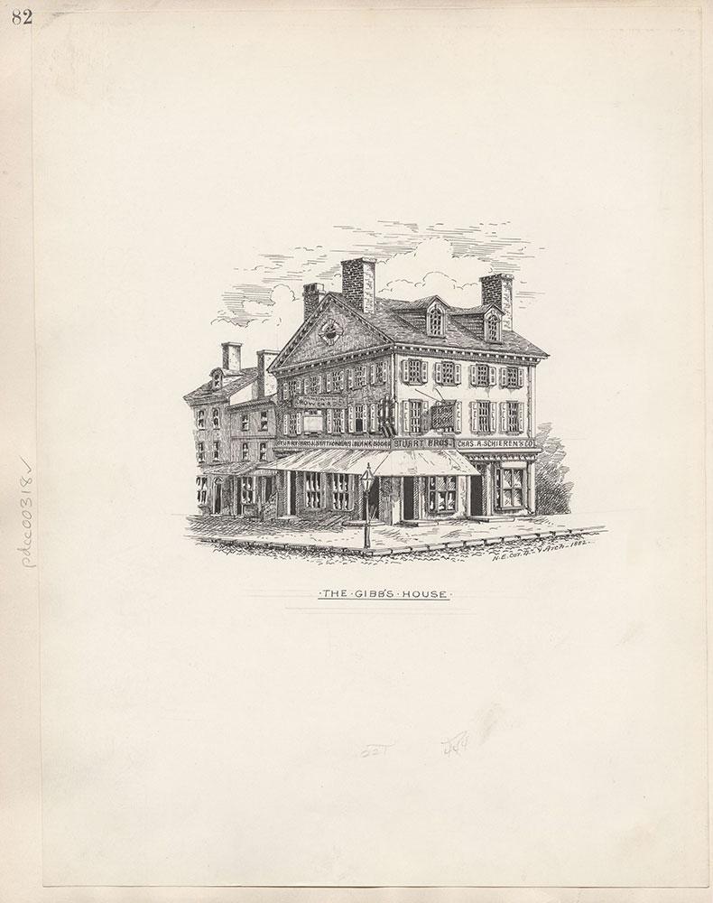 Castner Scrapbook v.4, Old Houses 1, page 82