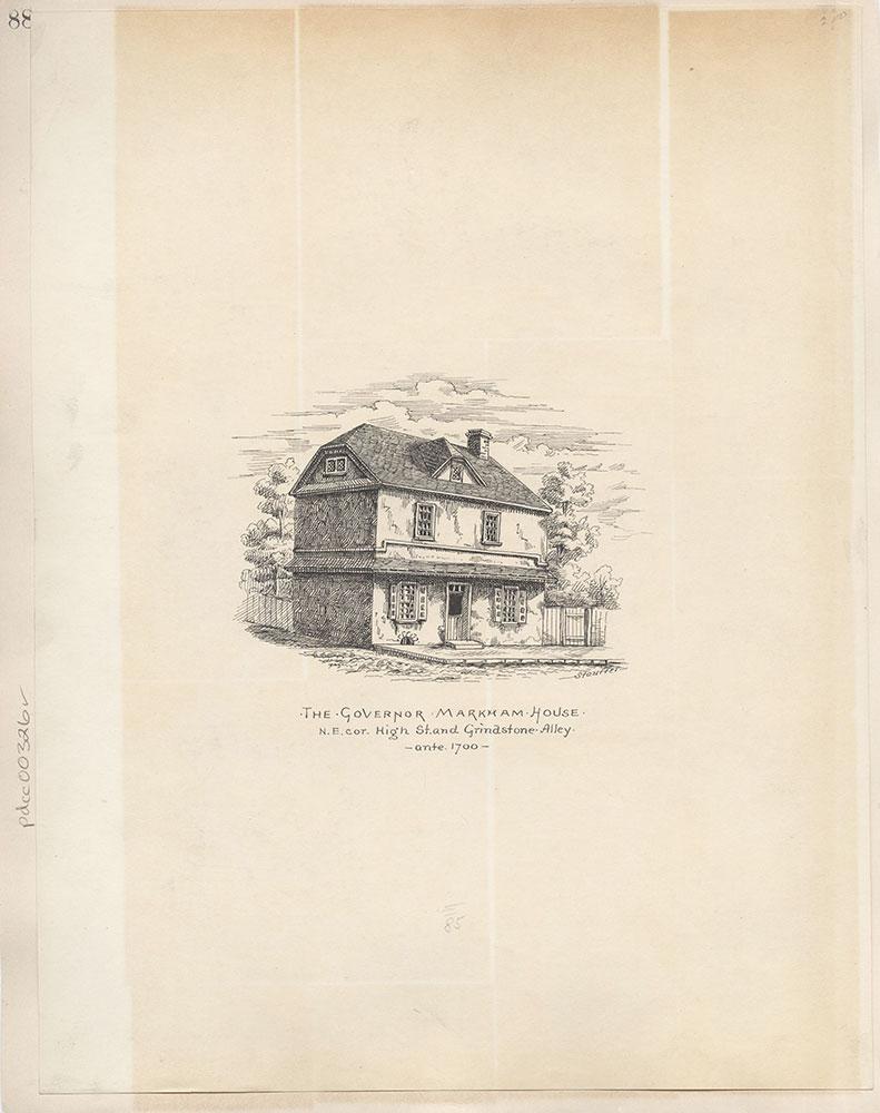 Castner Scrapbook v.4, Old Houses 1, page 88