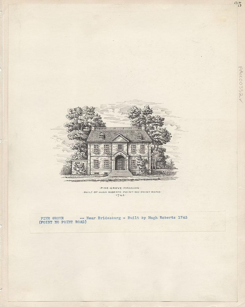 Castner Scrapbook v.4, Old Houses 1, page 95