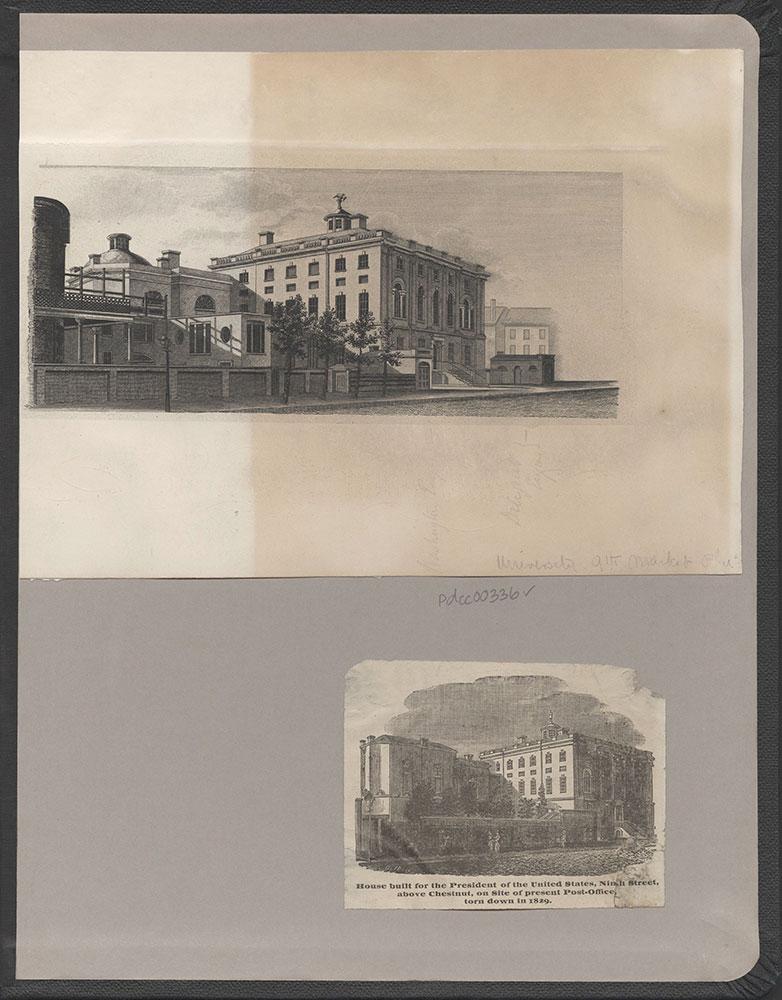 Castner Scrapbook v.4, Old Houses 1, (inside back cover)