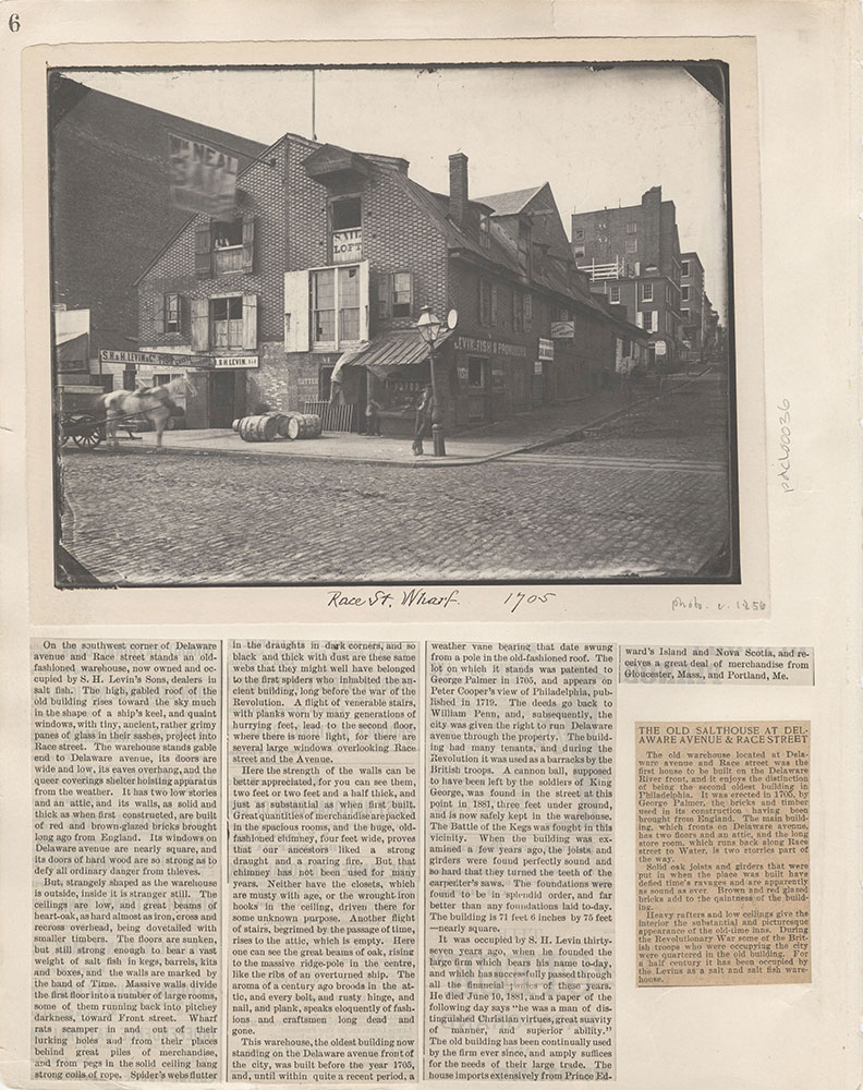 Castner Scrapbook v.5, Old Houses 2, page 6