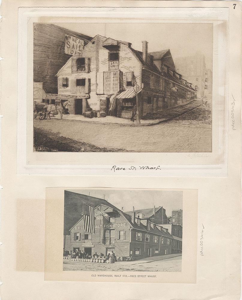 Castner Scrapbook v.5, Old Houses 2, page 7