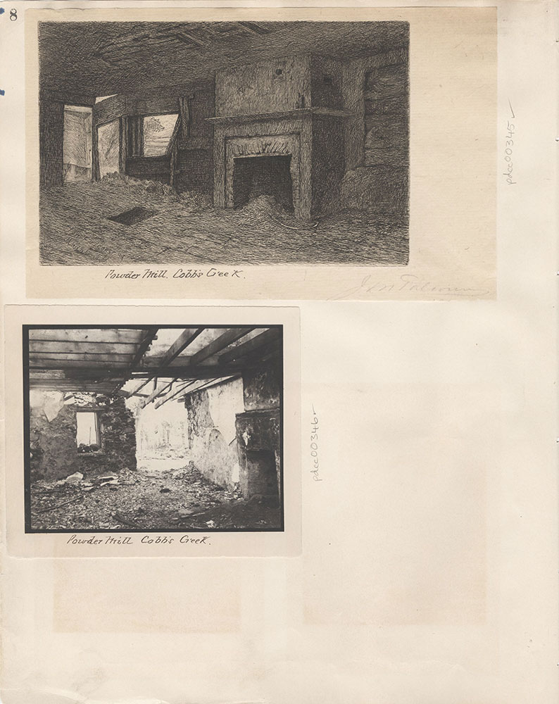 Castner Scrapbook v.5, Old Houses 2, page 8