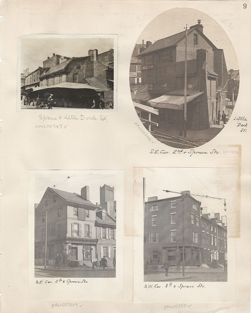 Castner Scrapbook v.5, Old Houses 2, page 9