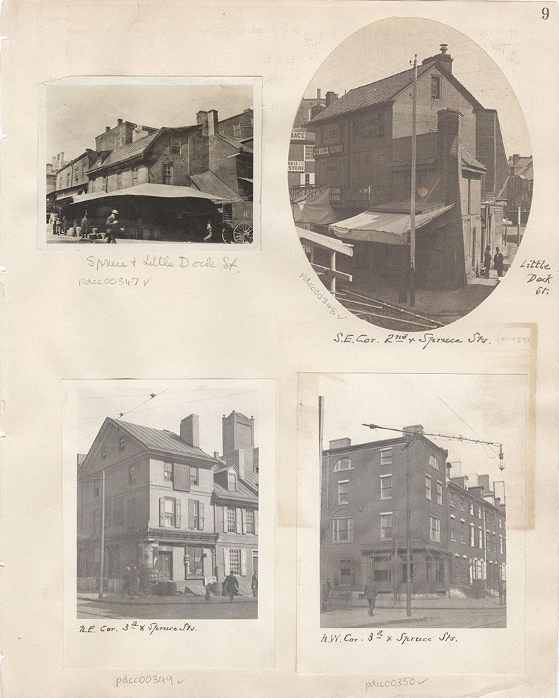 Castner Scrapbook v.5, Old Houses 2, page 9