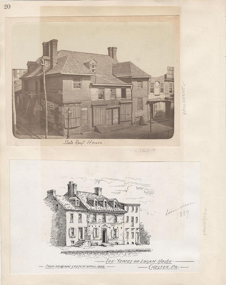 Castner Scrapbook v.5, Old Houses 2, page 20