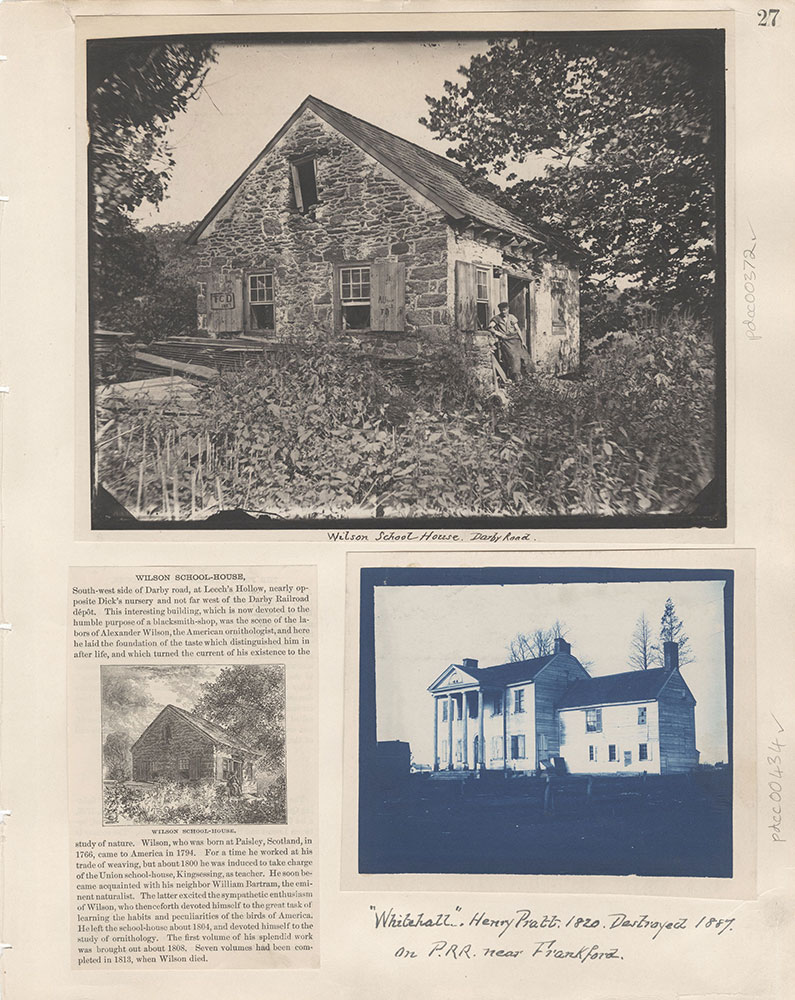 Castner Scrapbook v.5, Old Houses 2, page 27