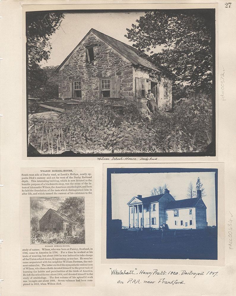 Castner Scrapbook v.5, Old Houses 2, page 27