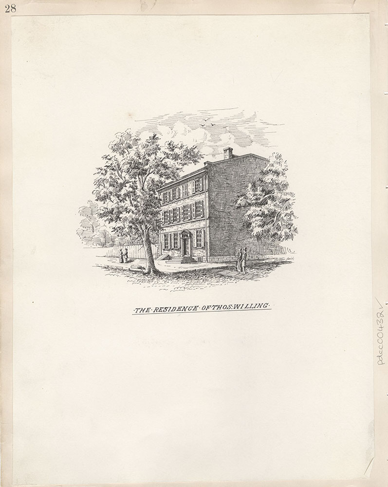 Castner Scrapbook v.5, Old Houses 2, page 28