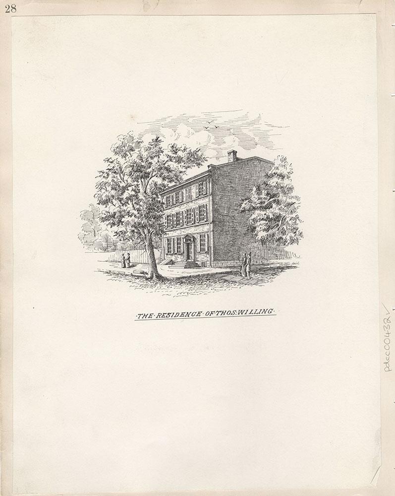 Castner Scrapbook v.5, Old Houses 2, page 28