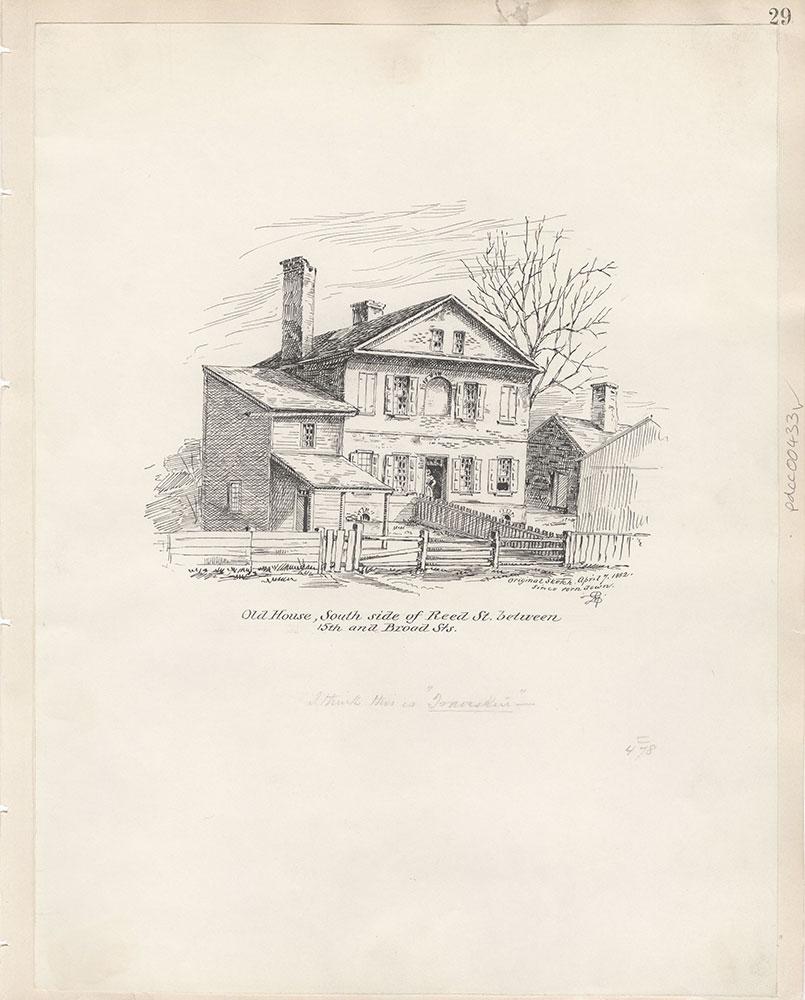 Castner Scrapbook v.5, Old Houses 2, page 29