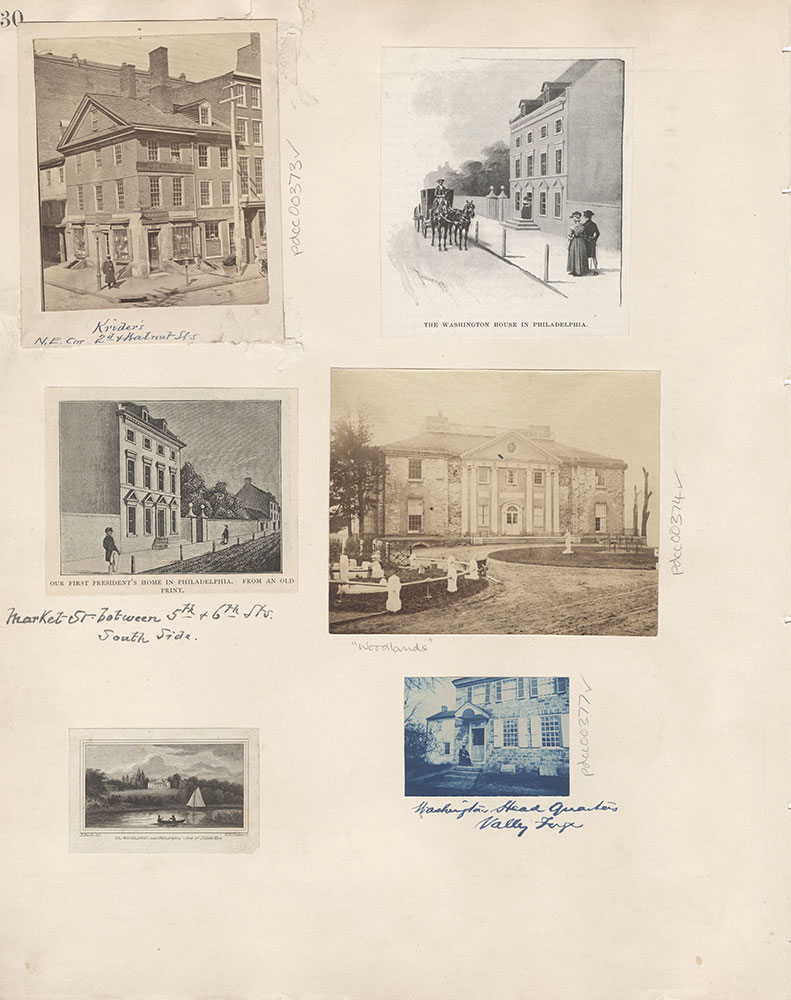 Castner Scrapbook v.5, Old Houses 2, page 30