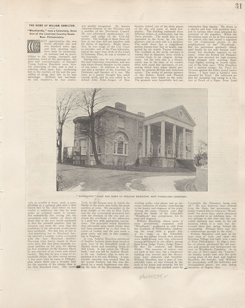 Castner Scrapbook v.5, Old Houses, page 31