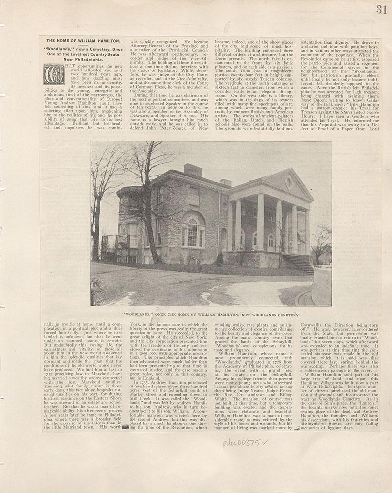 Castner Scrapbook v.5, Old Houses, page 31