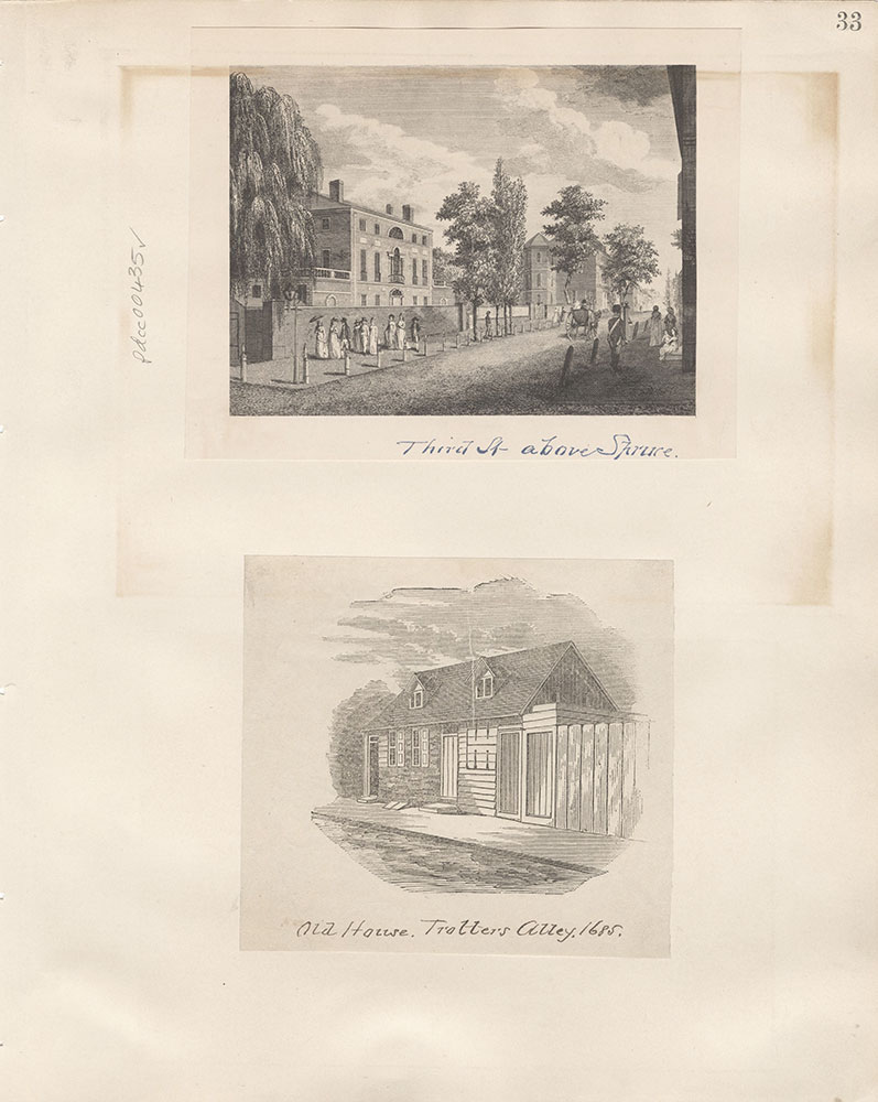 Castner Scrapbook v.5, Old Houses 2, page 33