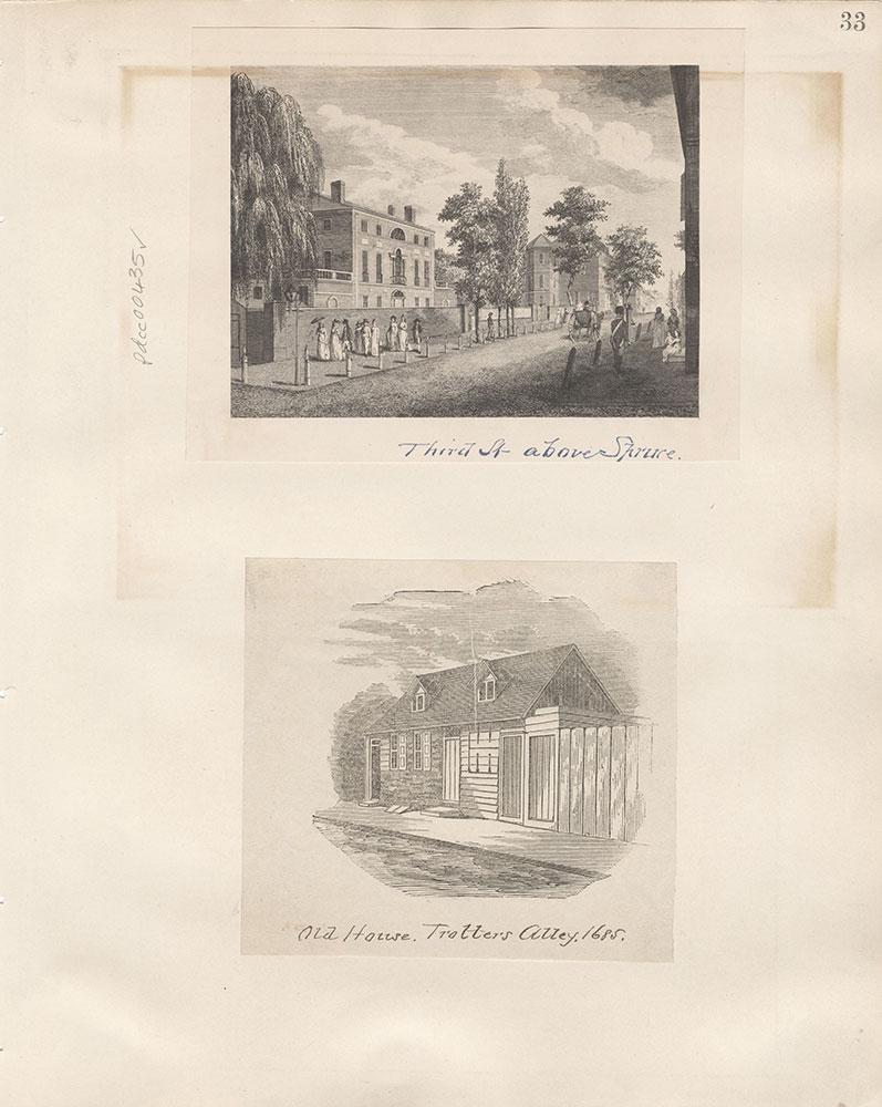Castner Scrapbook v.5, Old Houses 2, page 33