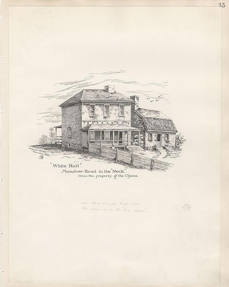 Castner Scrapbook v.5, Old Houses 2, page 35