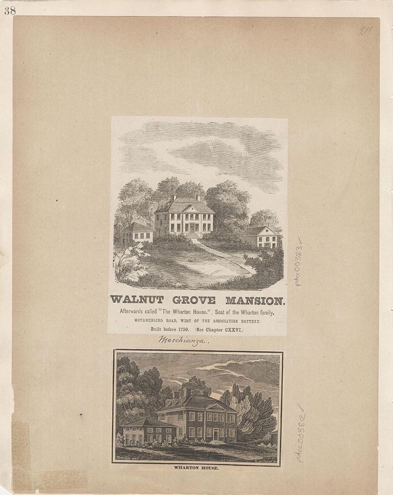 Castner Scrapbook v.5, Old Houses 2, page 38