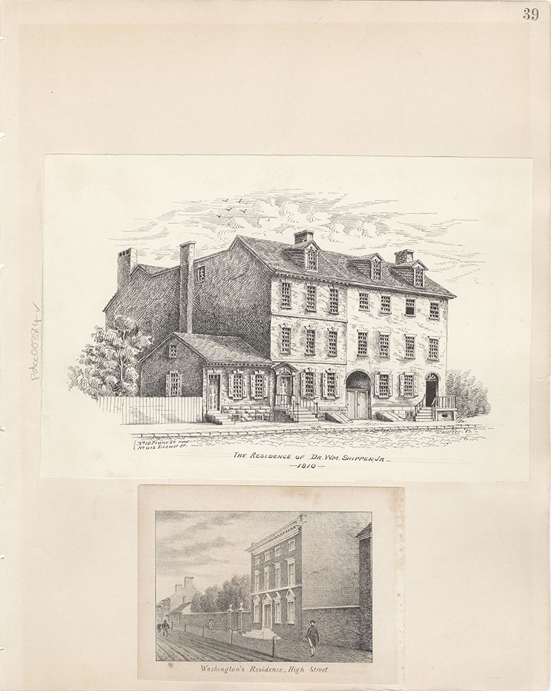 Castner Scrapbook v.5, Old Houses 2, page 39