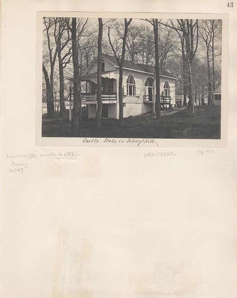 Castner Scrapbook v.5, Old Houses 2, page 43